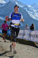 Reto Immoos am Jungfrau Marathon