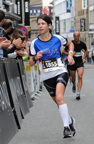 Schnellste Läuferin und Vereinsmeisterin 2012: Andrea Turello