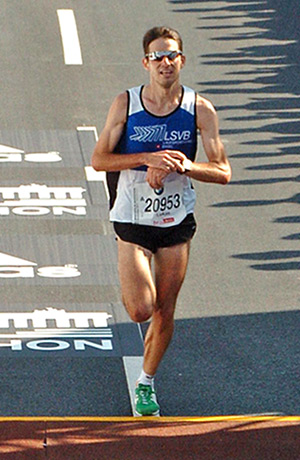 Schnellster Läufer 2012: Lukas Oldani