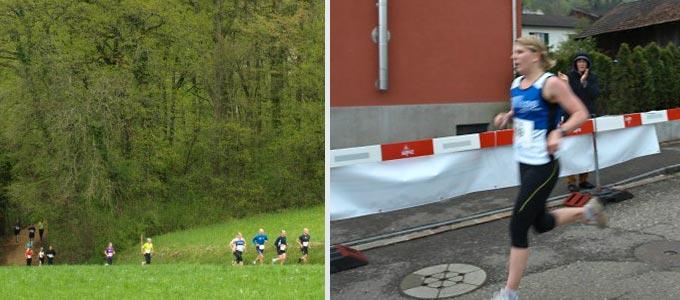 Nadine lief ein tolles Rennen und war am Schluss sogar für den Fotografen zu schnell