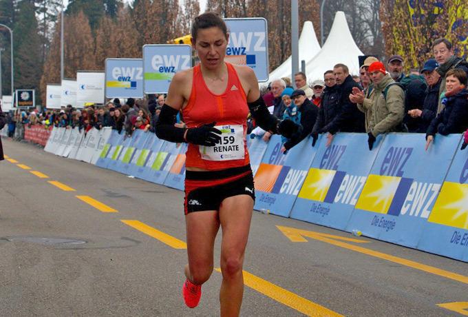 Renate Wyss lief bei ihrem ersten Rennen für den LSVB ein sensationelles Rennen