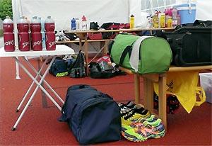 In Danis Zelt liegt alles parat