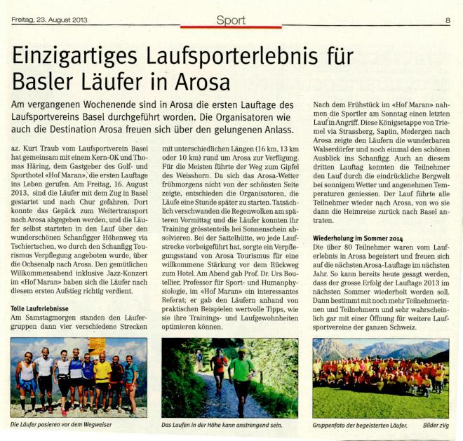 Arosa-Zeitung