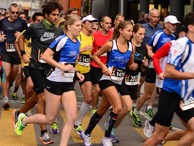 Evelyne und Nadine liefen ein tolles Rennen