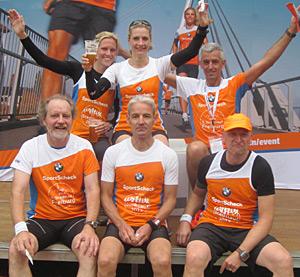 Sieg in der Teamwertung (4 vom Team fehlen auf dem Bild)
