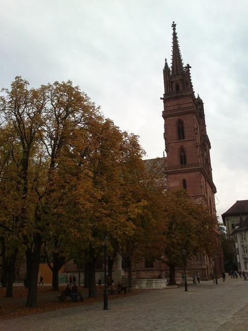 Start beim Basler Münster
