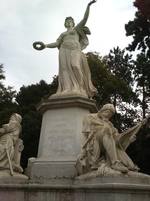 Denkmal zur Erinnerung an die Schlacht zu St. Jakob 1444