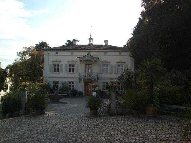 Die Villa Merian im Botanischen Garten
