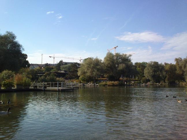 See und Restaurant in der Grün80 (Stiftung im Grünen)