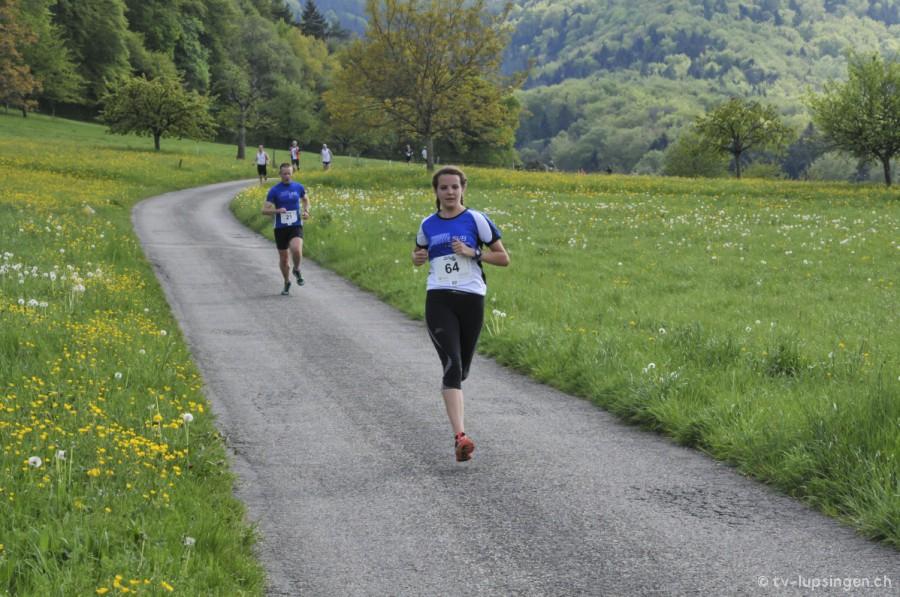 Lara Cerezo am Lupsinger Lauf 2014