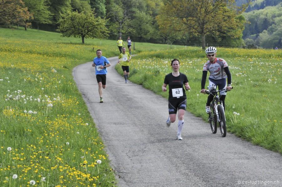 Laura Abgottspon am Lupsinger Lauf 2014