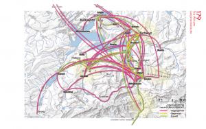 Karte Wegenetz