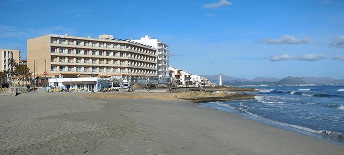 Das Hotel Ferrer Concord im Februar 2015