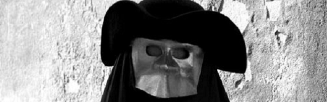Venezianische Maske... womöglich der Beelzebub?