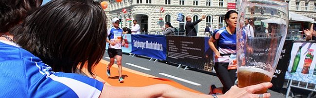Salzburg-Marathon: voller Einsatz auf und neben der Strecke