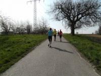 Laufen bei schönstem Wetter